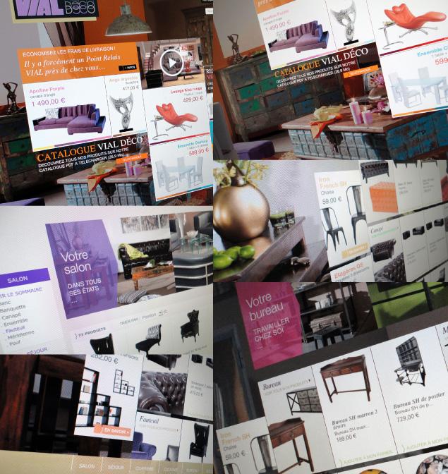 Beau Monde réalise la boutique en ligne de Vial Déco